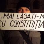 protest în Piața Universității în urma votului din Senat pentru păstrarea imunității lui Șova