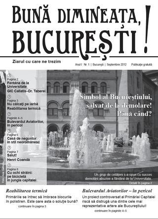 Anul II – Numărul 1 (1) - septembrie 2012